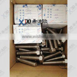 A453 GR660 heavy hex bolts 1.4980 hexagonal bolts