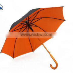 China Supplier Doulbe Layer zhejiang Ningbo Straight Wooden Umbrella Quality Choice