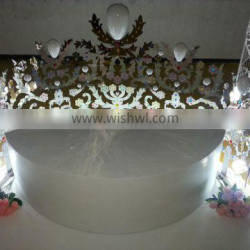wedding chair wedding decoration event home party chair decoration(WEDC-001)