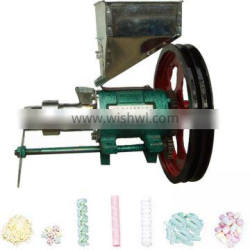 China famous brand Minsta snack puff extruder machine/corn snack extruder