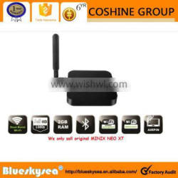 made in China google android 5.1 smart tv box NEO X7 New design