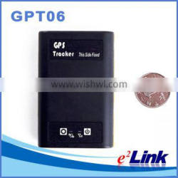 Micro gps chip tracker sim card tracker GPT06, portable gps tracker for person/pet, micro gps transmitter tracker with SOS