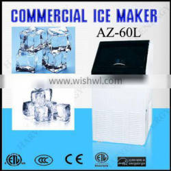AZ-60L high quality ice maker with low price 60kg/day ice cube