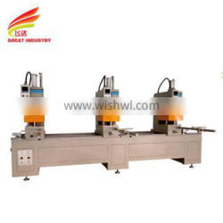 Three Head Seamless Welding Machine for PVC Window and Door