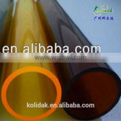 Transparent,wonderful,colorful, big size perspex pipe, acrylic tube