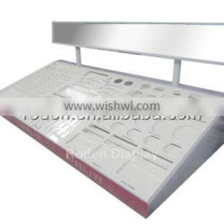 High quality makeup mac cosmetic display stand for sale