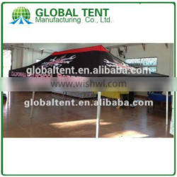 Custom Print Aluminum Pop Up Marquee Tent 3x4.5m ( 10ft X 15 ft), printed canopy & valance