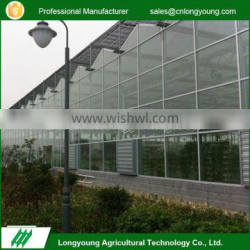 Factory custom stable structure multifunctional glass garden green house