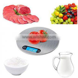 Multifunction Digital Kitchen and Food Scale with Stainless Steel Platform