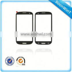 hot selling front glass panel for samsung galaxy s3 with best price