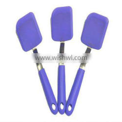 2012 Fashion and beautiful nonstick eco-friendly silicone kitchen tools promotional approved of FDA and LFGB