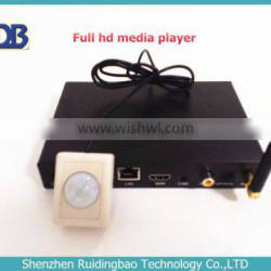 RDB Hot Selling Network Digital Signage Media player Support 3D wireless control,sync play DS009-70