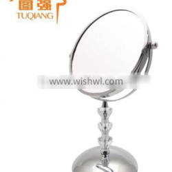 Fashion acrylic free standing magnifying mirror