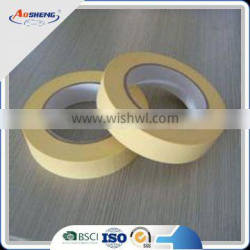 paper white color rubber crepe masking tape