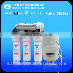 Factory Price 6 stages reverse osmosis system with carbon filters
