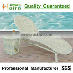 All weather perfect outdoor wicker lounge chair