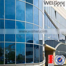 Low-e insulated glass for glass curtain wall price