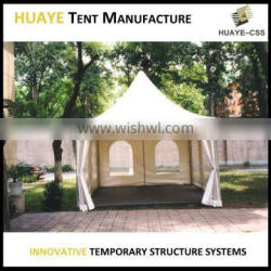 span width 3m/4m/5m/6m small tent pagoda tent for sale
