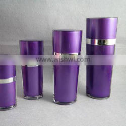 20/40/80/130ml cosmetic lotion bottle with PMMA material