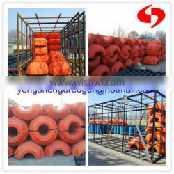 cutter suction dredging pipe floater for sale