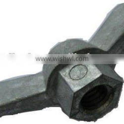 Zinc alloy wing nut butterfly wing nuts