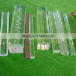 transparent clear plastic acrylic backing rod 2mm