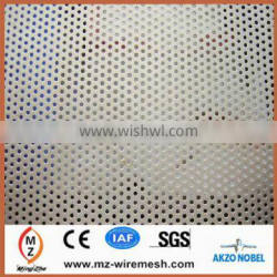 2014 hot sale oval hole decorative perforated metal mesh for acoustic panel and door desk decoration parts alibaba supplier
