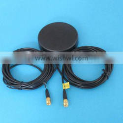 High quality GPS/GSM MIMO COMBO ANTENNA connector types for option