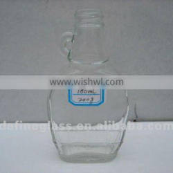180ml High Quality glass syrup bottle fruit wine bottle