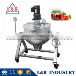 with SGS certification factory supply Fruit Jam Cooking Machine