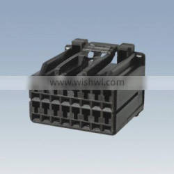 16PIN 20PIN black male terminal and card slot Pitch=2.5mm 20+16PIN black horizontal socket black vertical Pitch=2.5mm