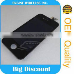 OEM wholesale 4g recycle repairs front retinal lcd for iphone 4