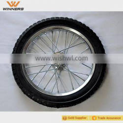 """puncture proof 16"""" bicycle trailer wheel"""