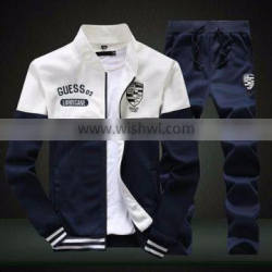 Good price hot sale high quality wholesale custom fleece men tracksuits
