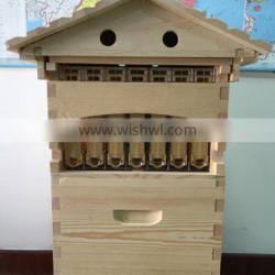 New stype flowing bee hive with 7pcs frames