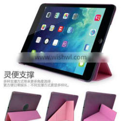 new product transformer holder pu case for ipad air