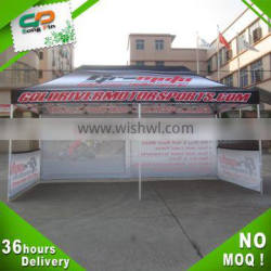 sublimation printing easy set up tents