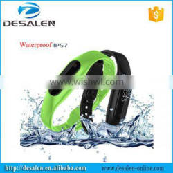 Unisex Step Counts Phone Calling E06 Smart Bracelet With Screen Touch Function