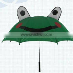 wholesales cheap bear cute print children rain umbrella with ear