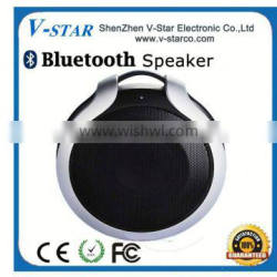 2015 Creative novelty LED colorful crystal TF card hands-free mini bluetooth speaker