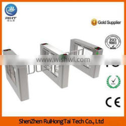 Supermarket Swing Turnstile Machine with Barcode Function Quality Choice