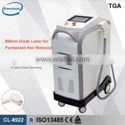 High power 808nm Diode Laser Hair Removal machines for female male use