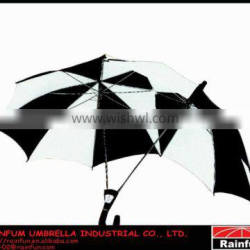 China popular outdoor double tandem lovers esprit umbrella