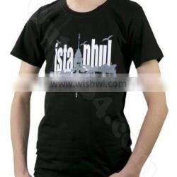 istanbul Black T-shirt, Printed T-shirt design coton t shirt, fashion t-shirt