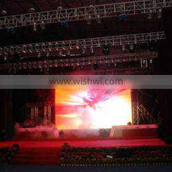 High brightness indoor stage rental led video screen for theatre