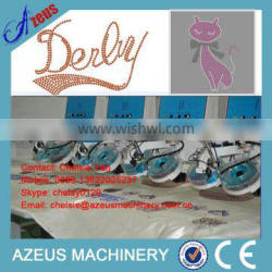 High performance low cost rhinestone machine with factory price