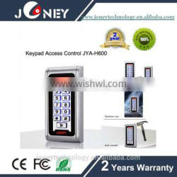 Mental housing rfid vandal-proof standalone door access control systems