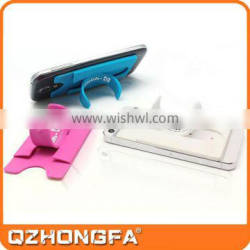 Cheap silicone 3m sticker touch-u mobile phone stand