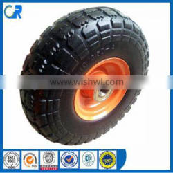Environmental wheel ! Yinzhu manufacturer eva solid tire 10*3.50-4 for wheel barrow