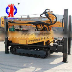 FY600 crawler pneumatic water well drilling rig